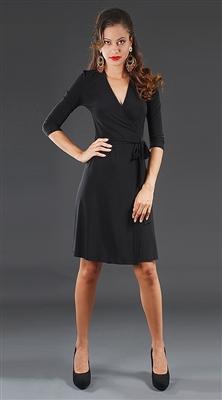 Polka Dot Wrap Dress Waitress Uniform Dresscodenyc Com